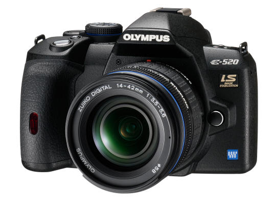 Olympus E-520 Double Zoom Kit (14-42, 40-150)