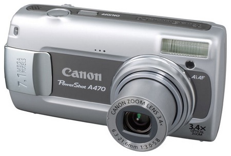 Canon PowerShot A470 white box