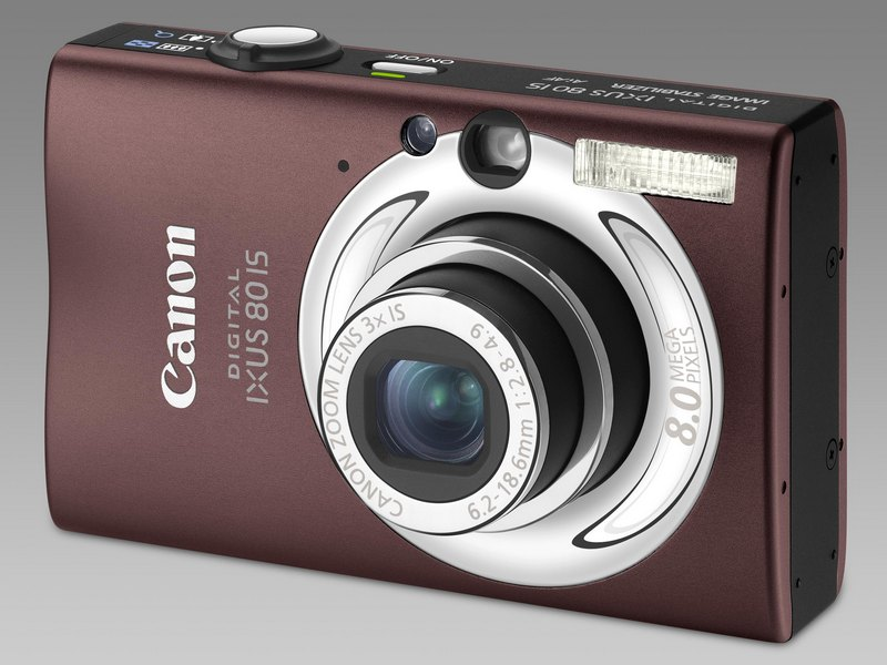 Canon Digital Ixus 80 Brown