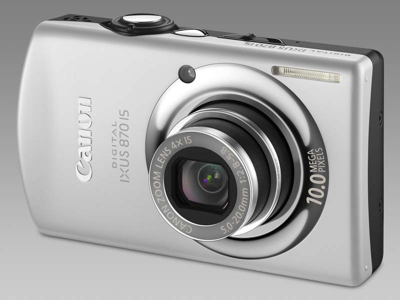 Canon Digital Ixus 870 IS Silver