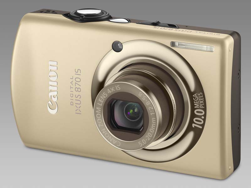Canon Digital Ixus 870 IS Gold