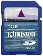 Kingston SD Card 1GB (SD/1GBCR)