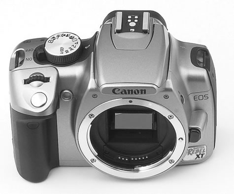 Canon EOS 350D (Rebel XT) White box