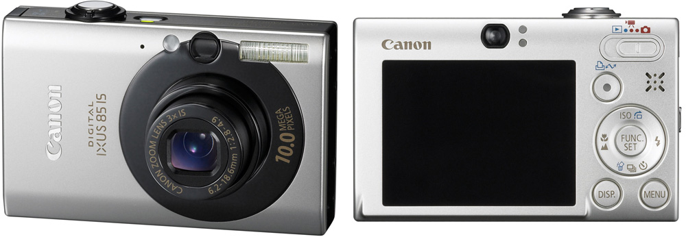 Canon Digital Ixus 85 Black